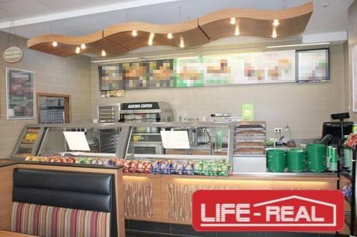 hoch frequentiertes Gastronomie Lokal