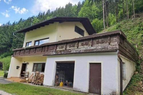 Renovierungsbedürftiges Wohnhaus in Breitenau am Hochlantsch !