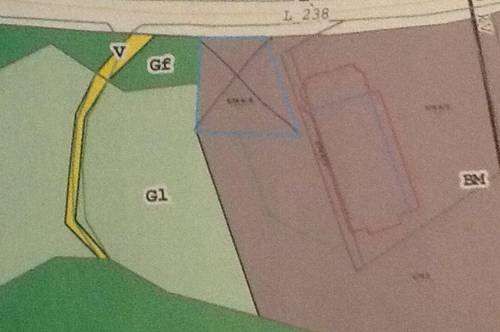 Bauland Mischgebiet in Autobahnnähe