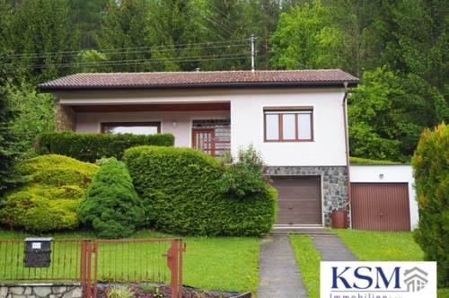 BERGWERK - Einfamilien- / Wochenendhaus mit Garten