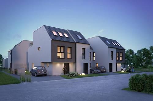 Reihenhaus 112m², vollunterkellert, Provisionsfrei, 4 Zimmer + 45m² Eigengarten & Dachterrasse, Abstellplatz