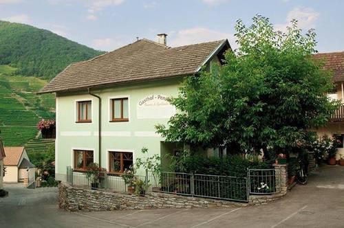 Frühstückspension (Hotel-Garni) mit Privatanteil in Vießling bei Spitz an der Donau!