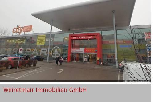 Sehr schöne Geschäftslokale im Einkaufszentrum INTERSPAR - St. Pölten