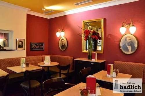 """NEU:<br />CAFEHAUS im Stil<br />""""Wiener Cafe"""" ZU VERMIETEN<br />60 Sitzplätze- Terrasse - Top Zentrumslage!"""