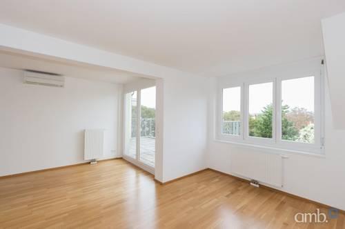 DG-Appartement mit großzügigen Terrassen und herrlichem Ausblick