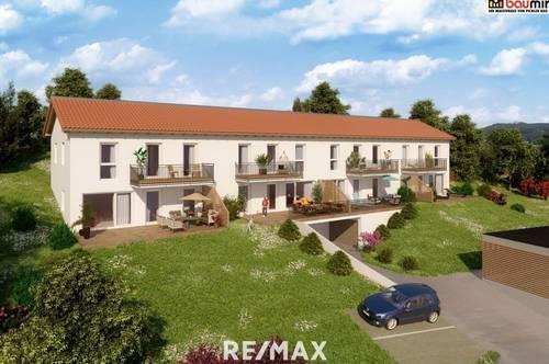 Neubau Erstbezug Maisonette-Wohnung mit traumhaftem Ausblick, inkl. 2 Tiefgaragenplätze!