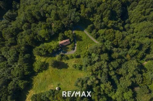 *Idyllisches Haus in Alleinlage von Oberhaag mit viel Waldfläche*