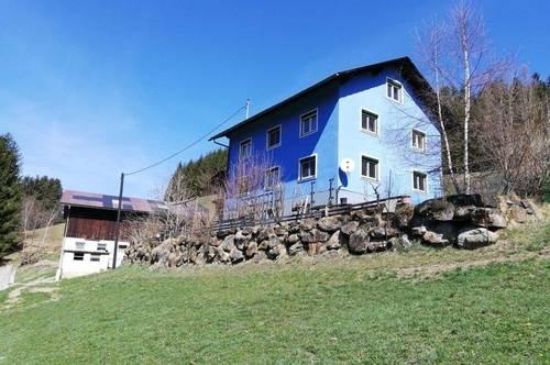 Vermietetes, teilsan. Wohnhaus in Alleinlage