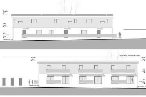 Neubau Maisonettenwohnung in Ruhelage