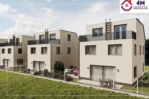 **Smart living**Familientraum**Ultramodernes Einfamilienhaus mit Eigengarten, zwei Terrassen und zwei PKW Abstellplätzen