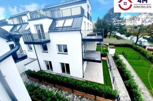 Erstbezug 4 Zimmer DG-Maisonette Wohnung mit Terrasse, Balkon und Fernblick !!!