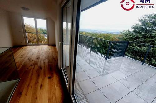 Grün Ruhelage - BRAND NEW DG-Maisonnette Erstbezug mit Terrasse und Balkon - Traumausblick !!!
