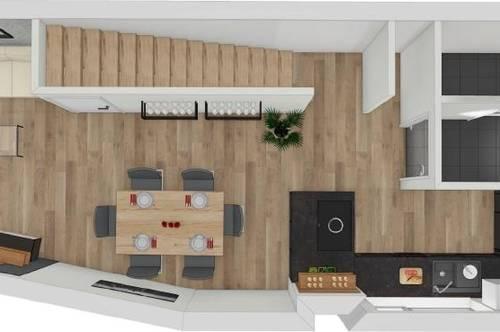 NEUBAU - Doppelstöckige 3 Zimmerwohnung zu vermieten!