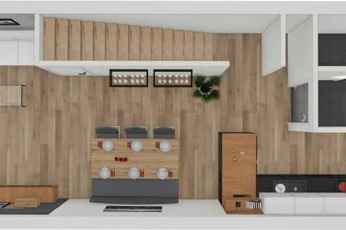 NEUBAU - Doppelstöckige 3 Zimmerwohnung zur Miete!