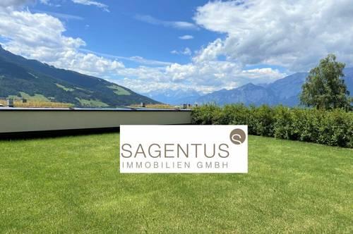 Nähe Innsbruck: Moderne 2-Zimmer-NEUBAU-Wohnung mit 119 m² großem Garten zu mieten