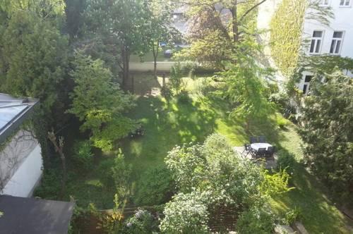 Repräsentative 3 Zimmer Wohnung - ca. 660qm Gartenmitbenutzung !