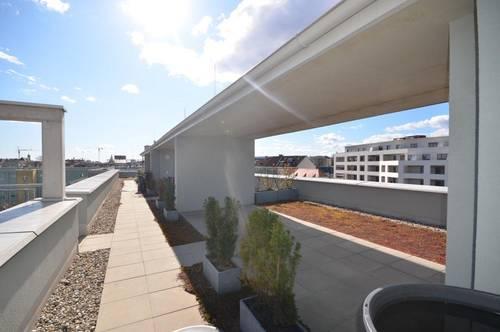 Lend: Hübsche 2-Zimmerwohnung mit Balkon und Dachterrasse!