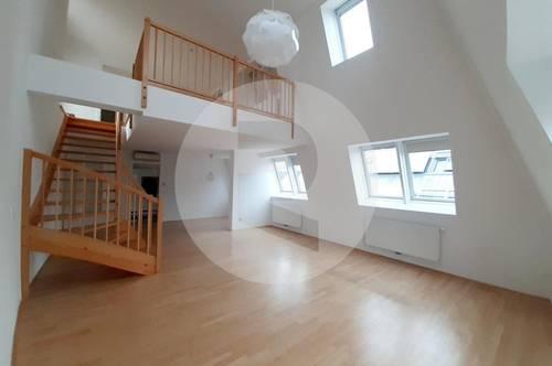 Sonnige 4 Zimmer DG Wohnung +Terrasse /Nähe Naschmarkt
