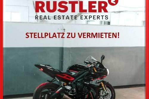 NEU: Super Motorradstellplatz in der Karl-Nieschlag-Gasse