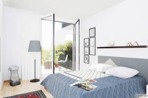 Graz-Eggenberg: Idealer Prächentaum! Moderne 2-Zimmer-Wohnung!