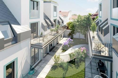 Hofseitiger 2-Zimmer-Garten-Wohntraum in Oberlaa