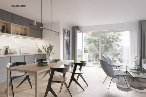 PROVISIONSFREI! Moderne 2-Zimmer-NEUBAUWOHNUNG mit Balkon, für Eigennutzer und Anleger!