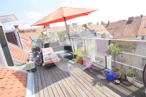8010 Graz: Zentrale Lage! Charmante Galeriewohnung mit Terrasse!
