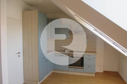 2-Zimmer-Dachgeschoss-Wohnung mit herrlichem Stadtblick! PROVISIONSFREI!