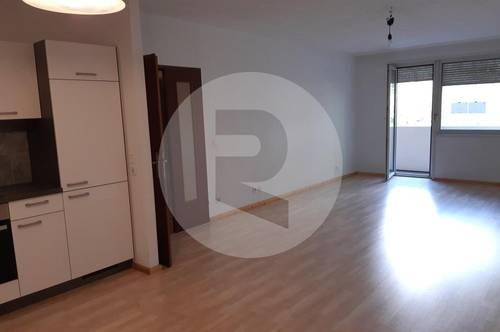 3 Zimmer Wohnung mit großer Loggia und Grünblick