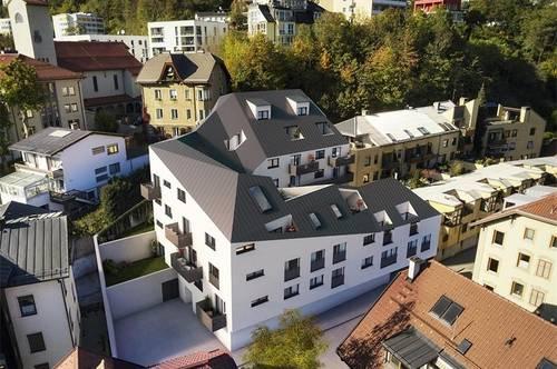 Innsbruck Hötting: Exklusive 2-Zimmer Wohnung in sonniger Aussichtslage Top 13