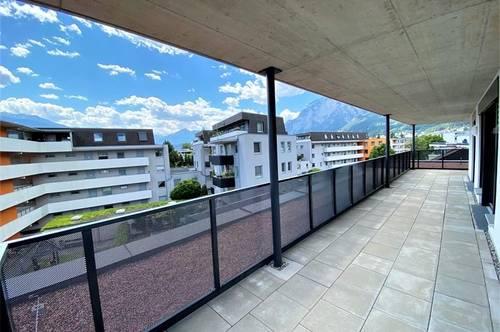 Innsbruck: Moderne 3-Zimmer-Wohnung mit grandioser Terrasse