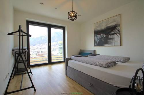Top 10.3: Moderne 2-Zimmer-Wohnung über den Dächern von Innsbruck!