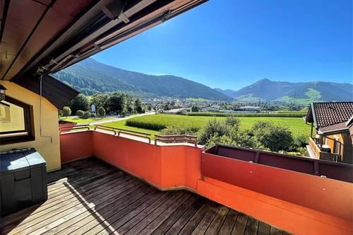 Birgitz: Dachgeschoss-Wohnung in sonniger Ruhelage mit Sanierungspotential
