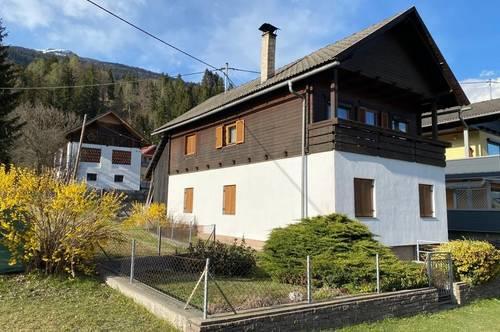 Gemütliches Einfamilienhaus mit der Möglichkeit zum Ausbau nahe Weißensee