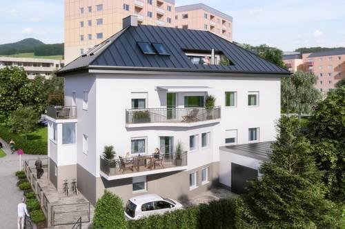 Living on Top - Traumhafte 3-Zimmer Dachgeschosswohnung in der Stadt Salzburg