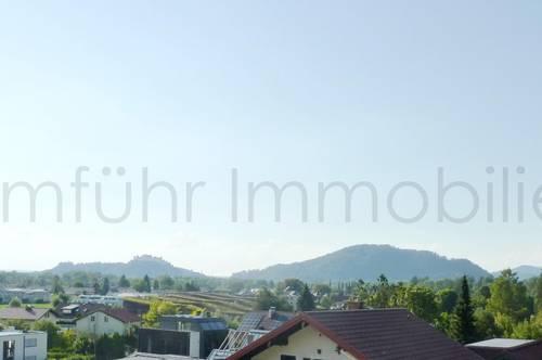 Große 4-Zimmer-Etagenwohnung mit wunderschönem Ausblick Toplage Aigen/Elsbethen