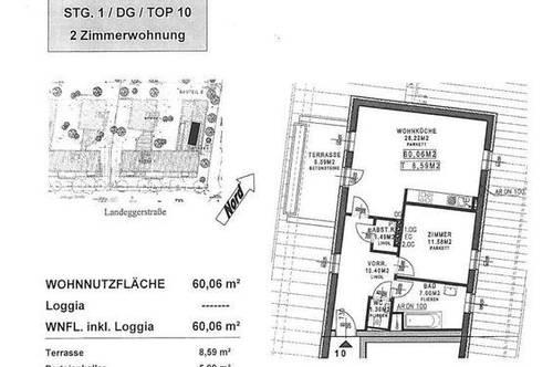 Schöne helle 2 - Zimmer Wohnung in Neufeld an der Leitha