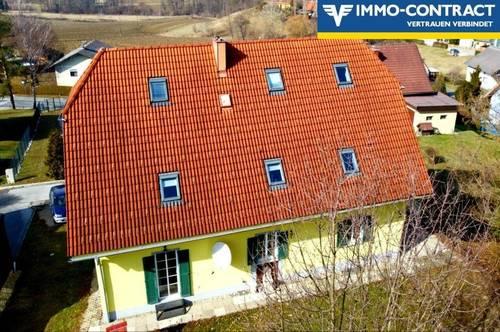 Schönes Mehrfamilienhaus an der südsteirsichen Weinstraße, mit drei getrennten Wohneinheiten und Garten!