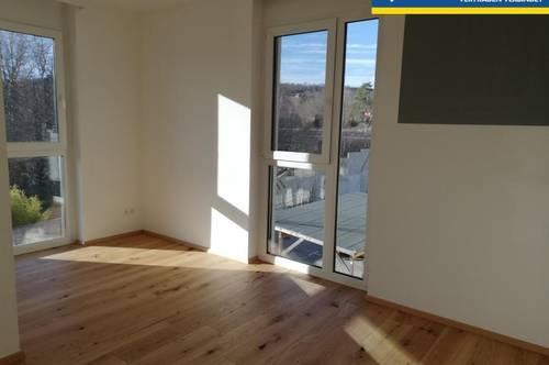 Wunderschöne Mietwohnung mit Rundum-Grünblick mit Balkon und Terrasse