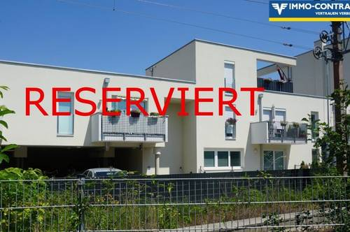 Reserviert.Bequemes Wohnen 2 Zimmer, Balkon, geförderte Neubau-Genossenschaftswohnung  Top 2