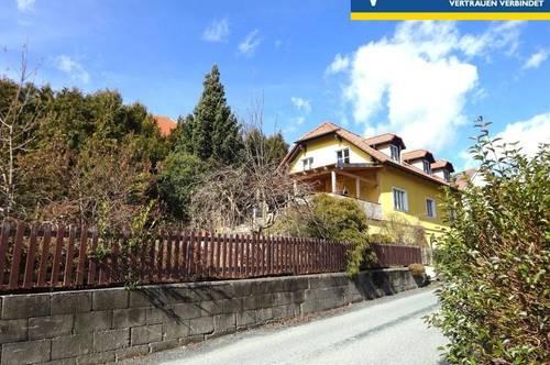 Großes Haus mit Garten in sonniger Aussichtslage am Stadtrand