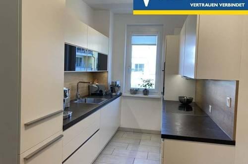 3 Zimmer Wohnung inkl. Heizkosten mit südseitiger, 32 m² großer Terrasse.