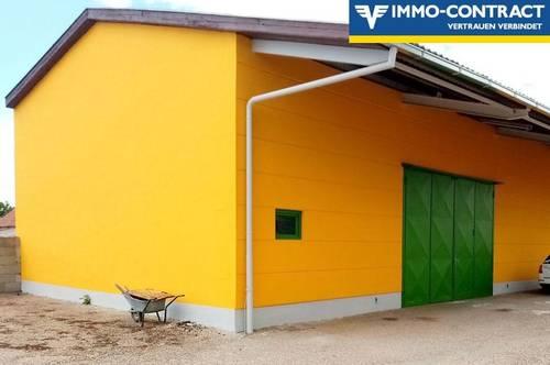 190m² Halle und 1000m² Lagerplatz zu vermieten, LKW-Zufahrt möglich!