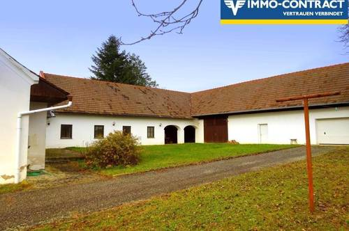 Wunderschön gelegener Dreikanthof  - Pferdehaltung erlaubt