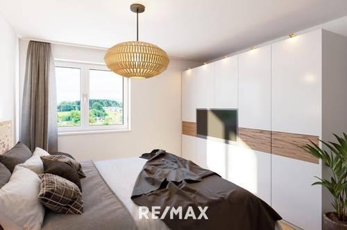 Leben am Pfarrerberg - Moderne 4 Zimmer Wohnung mit Ausblick - Top 6