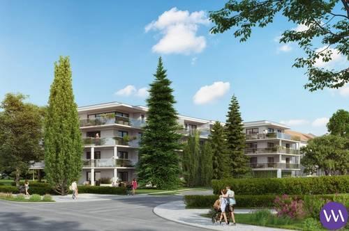 Wunderschöne Neubauwohnung mit Terrasse und Grünfläche ...!