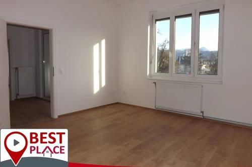 Klagenfurt City: 3 Zimmer Wohnung mit Süd-Balkon