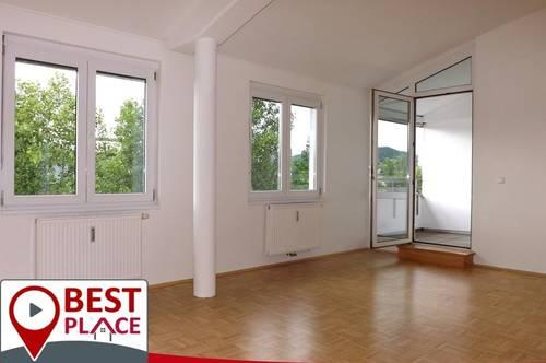Klagenfurt Waidmannsdorf: interessante DG-3 Zimmerwohnung