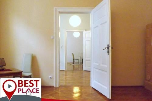 Stilvoll-elegante 4,5Zimmer 120 m² Altbauwohnung mit Südbalkon Fussgängerzone Klagenfurt WG geeignet