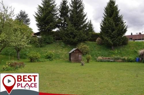 Sonniges Baugrundstück Villach Obere Fellach